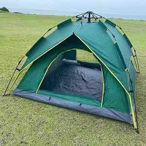 一人用テント おすすめ 安い アウトドアナチュレ3~4人用テント