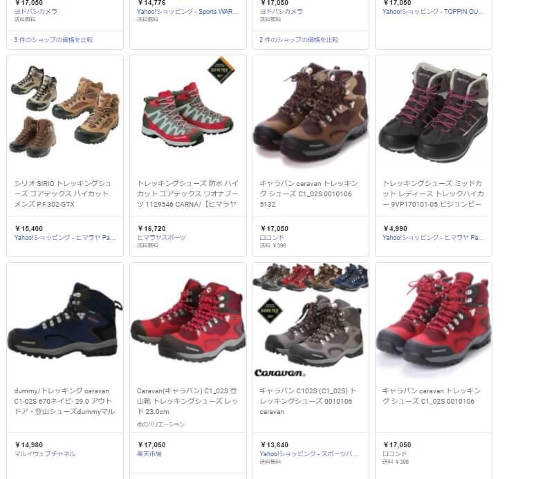 富士登山靴 キャラバンC102S (1)