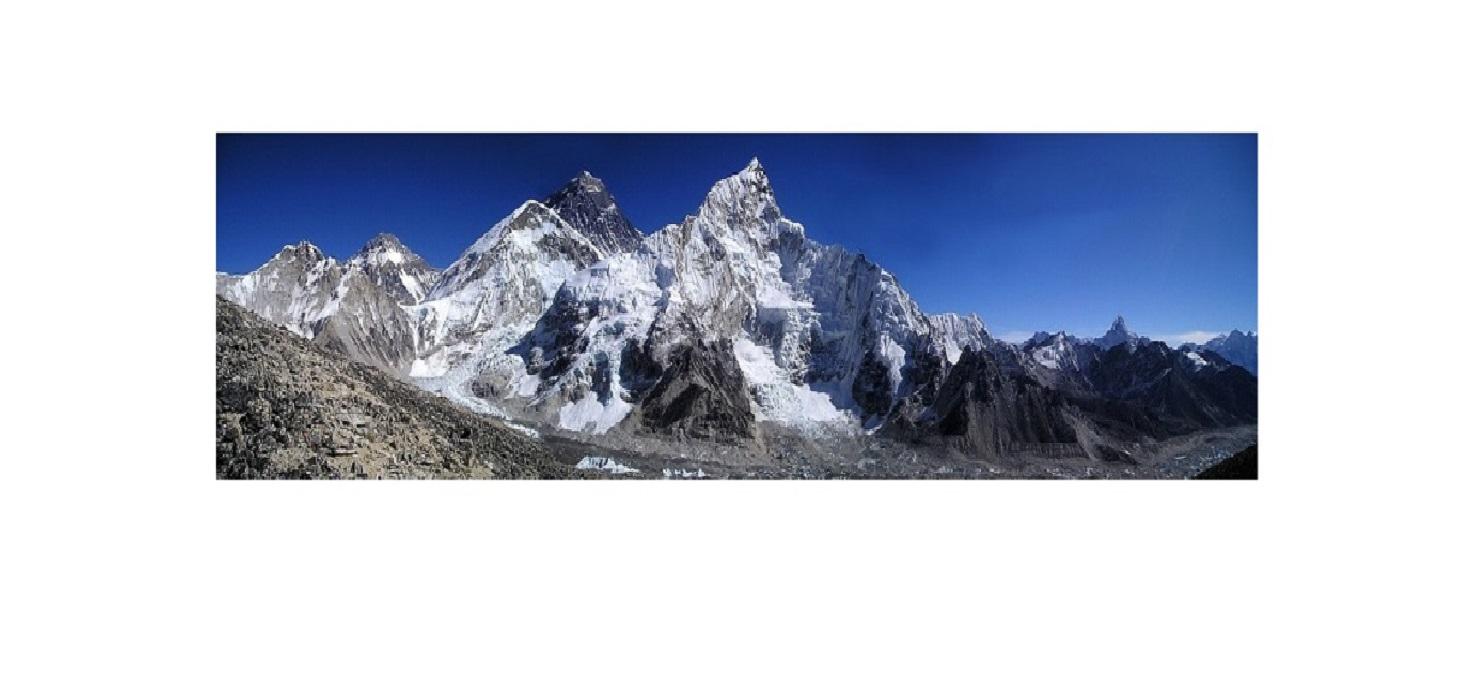 エベレストの遠景