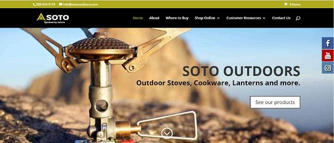SOTO USAのトップページ