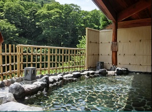 駒の湯 露天風呂