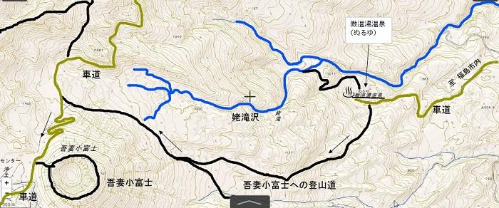 ぬるゆ温泉地図