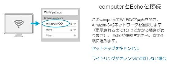 ルーターとAmazonEchoを接続
