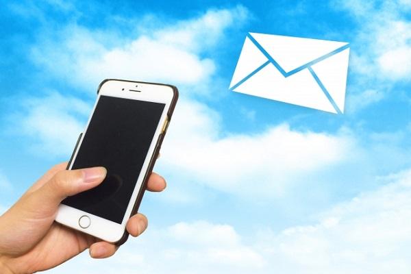 iPhoneとメール