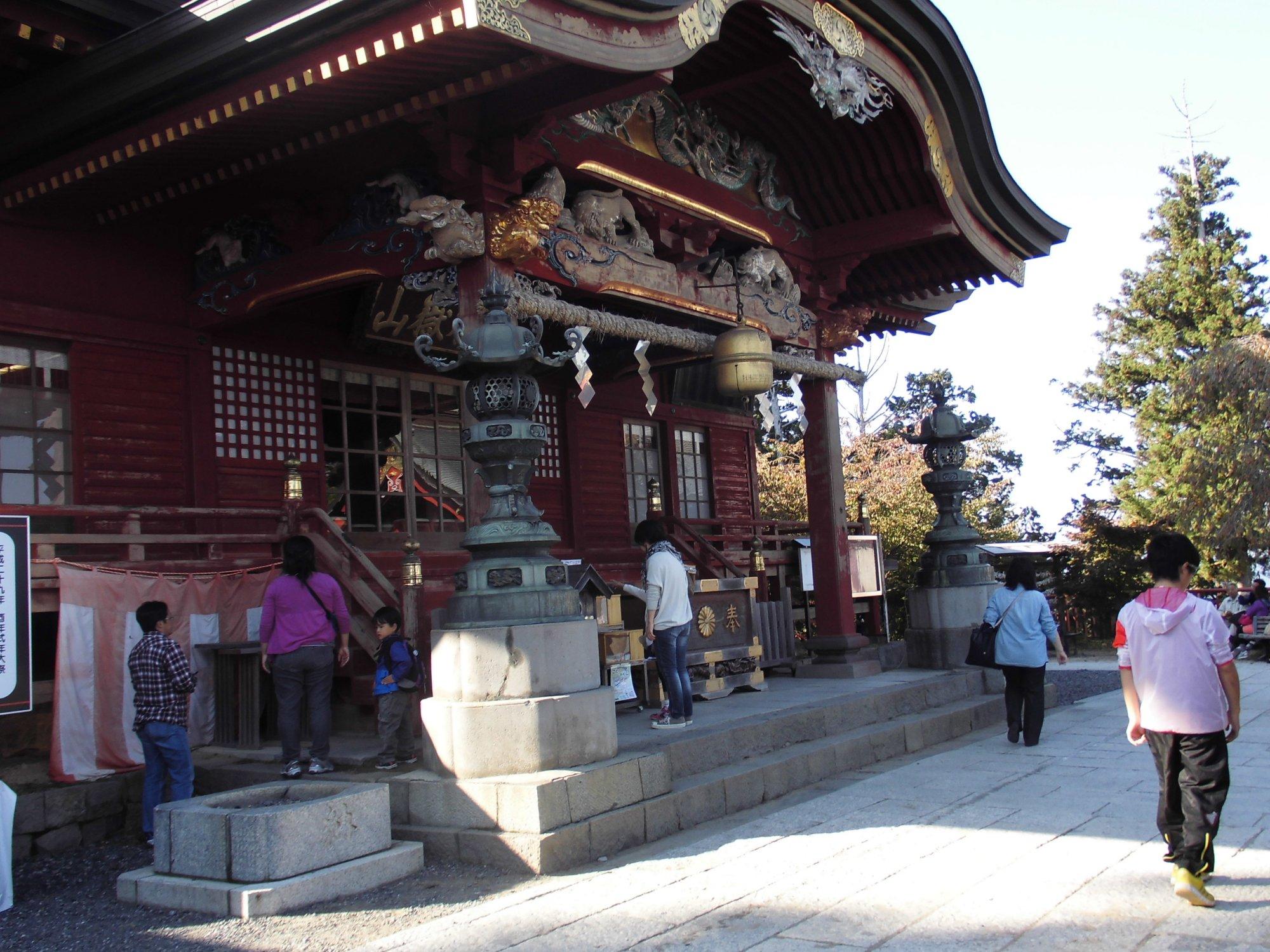 御岳山 武蔵御嶽神社 奥多摩