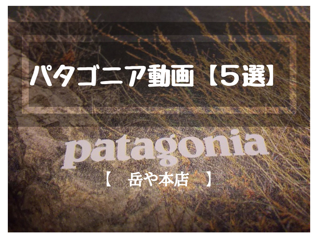 patagoniaのカタログのロゴ