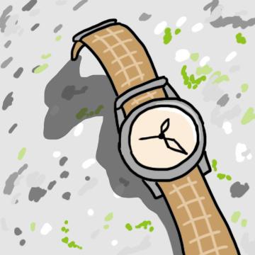 登山の時計