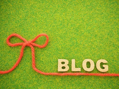 ブログと書かれた画像