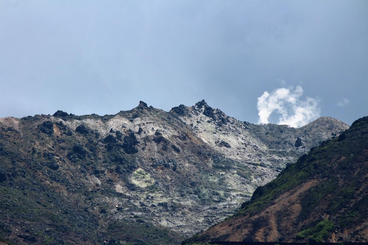 久住山登山 山頂の写真