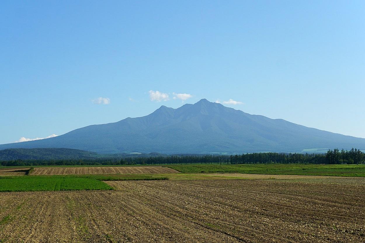 斜里岳登山 遠景