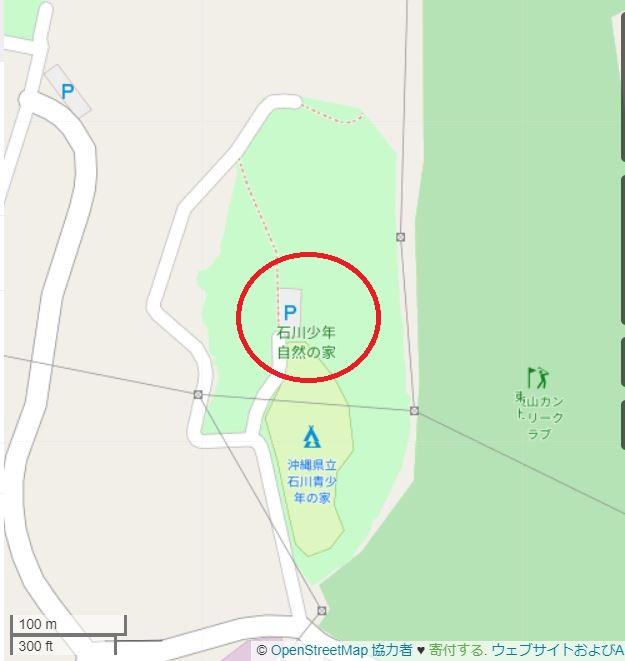 沖縄県立石川青少年の家 マップ