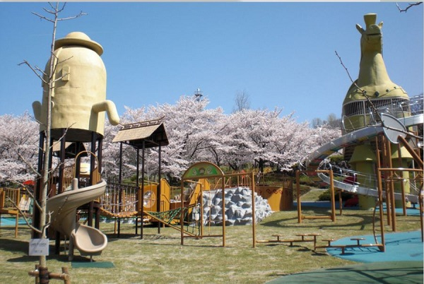 高松市 峰山公園 はにわっ子広場