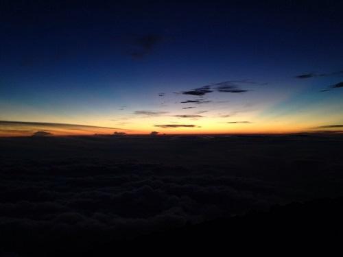 富士山須走口の御来光