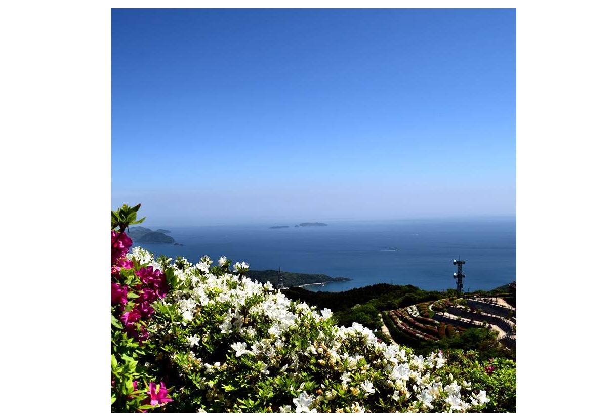 防府市大平山山頂公園からの景色