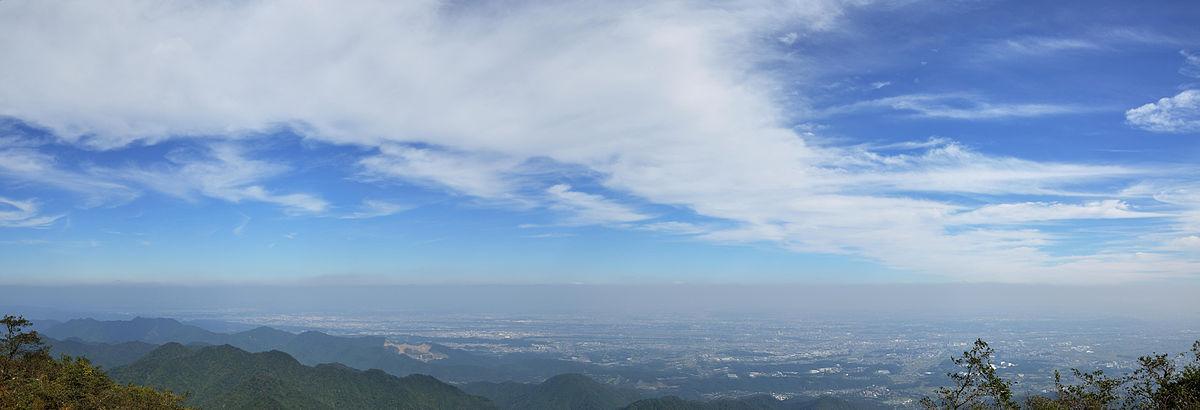丹沢大山登山 大山山頂からの景色の画像