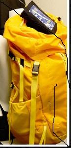 150メガヘルツの登山者位置探知システム