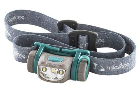 ヘッドライト マイルストーン MS-A5 青