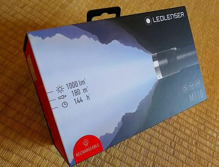登山ライトメーカー レッドレンザーのヘッドライト MT10 おしゃれなパッケージ全画像