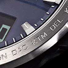 登山時計 カシオプロトレックPRW-60-2AJFの文字盤のアップ画像