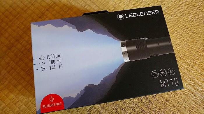 登山ライトメーカー レッドレンザーのヘッドライト MT10 パッケージ 01