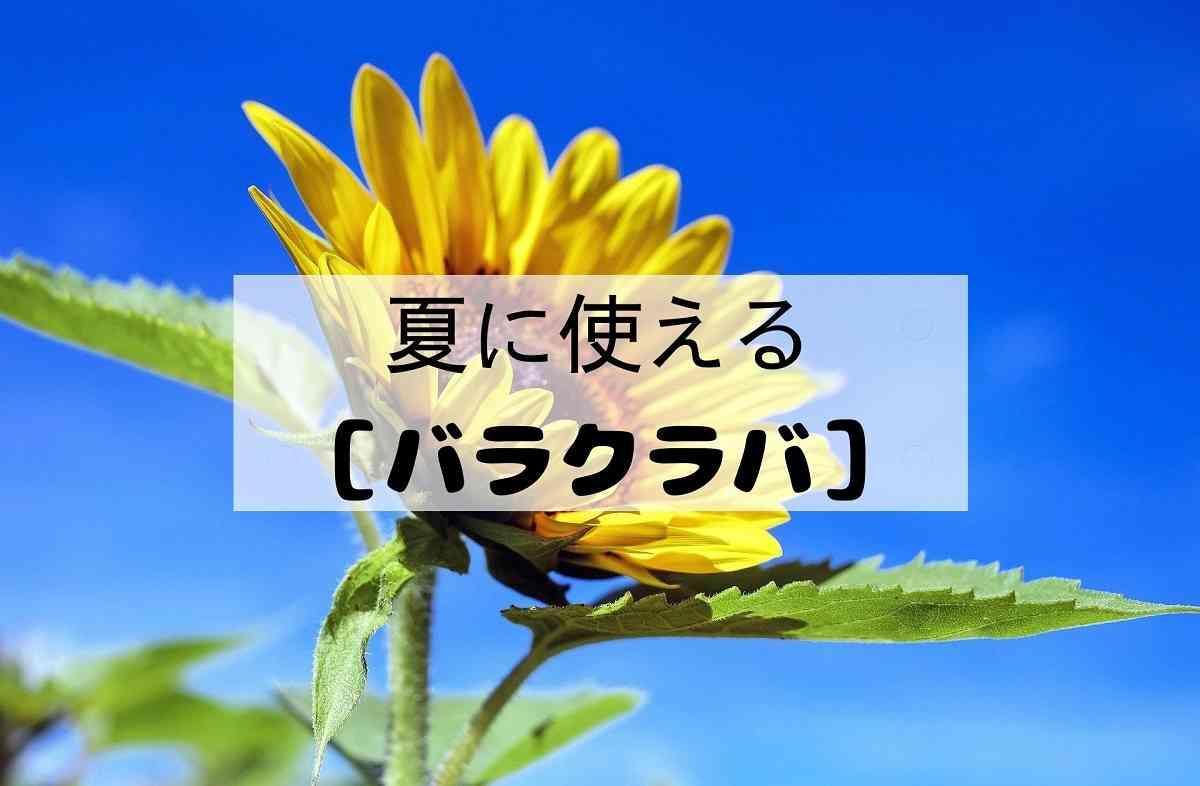 バラクラバ 夏編