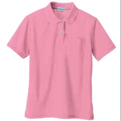 ワークマンの夏登山で使える ポロシャツ アイトス 女性用吸汗速乾半袖ポロシャツ