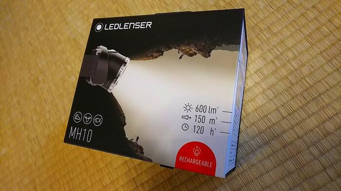 登山ライトメーカー レッドレンザーのヘッドライト MH10 パッケージ 01