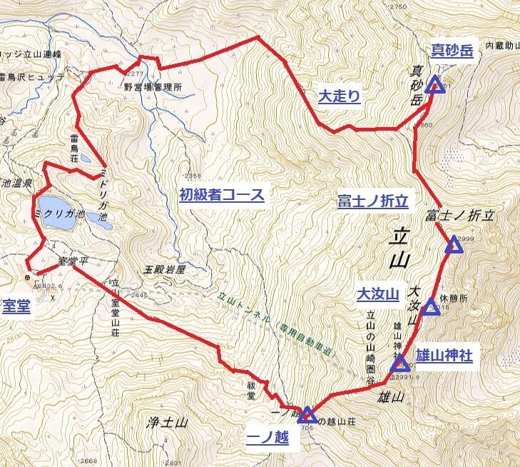 立山 登山 初級者コース