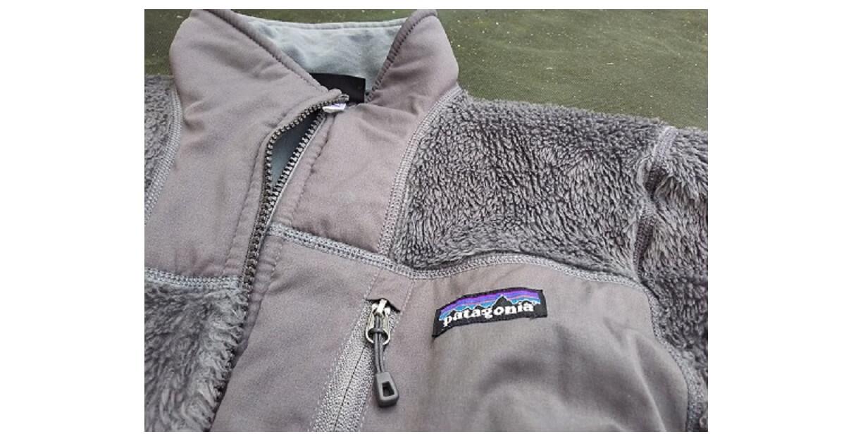 パタゴニア R3ジャケット グレイ ミドルウェア