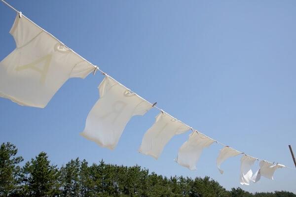 洗濯物がよく乾く 速乾のイメージ AC