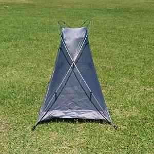 一人用テント おすすめ 安い BUNDOK(バンドック) ソロテント 横から