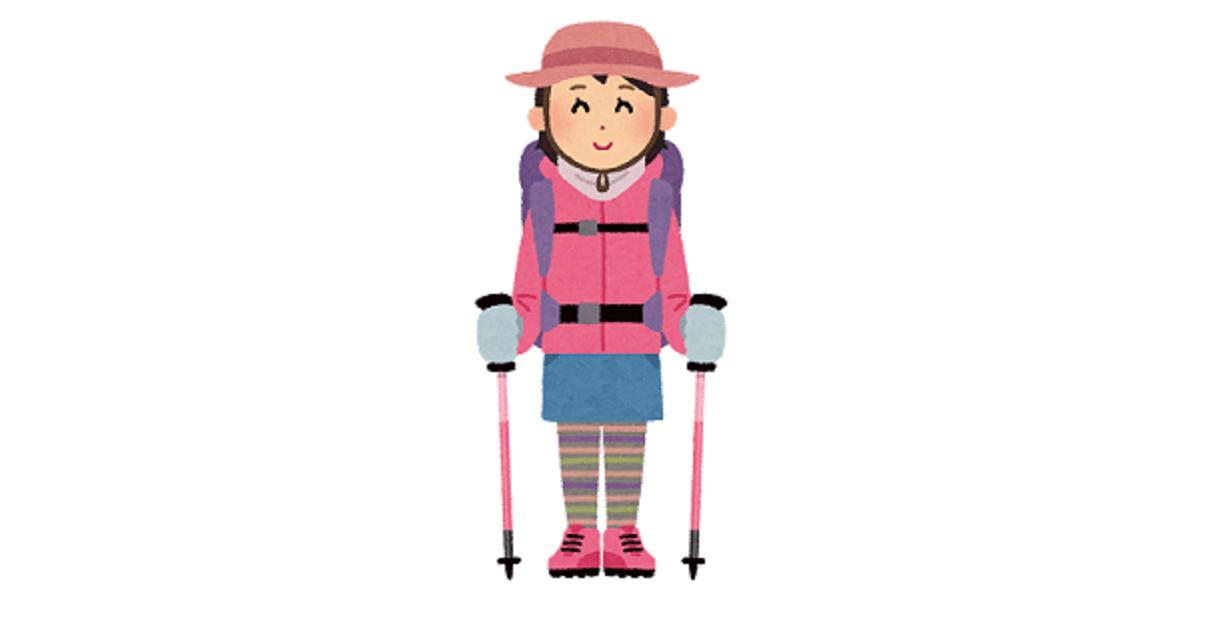 登山初心者のマナー マナーの良い女性