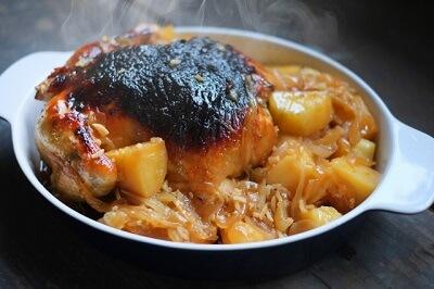 ダッチオーブンを使った料理