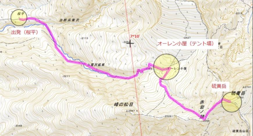 登山初心者ステップアップ オーレン小屋