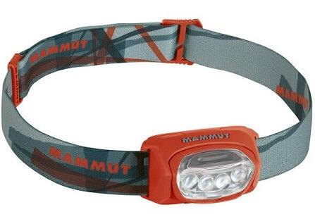 ヘッドライト マムート T-Trail やや斜め上からの画像