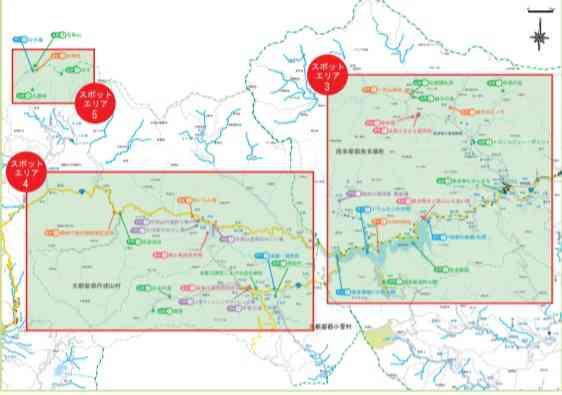 多摩散策マップ(関東地方整備局より)