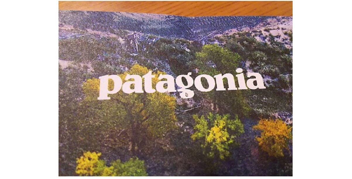 登山ウェアメーカー Patagoniaのカタログ写真