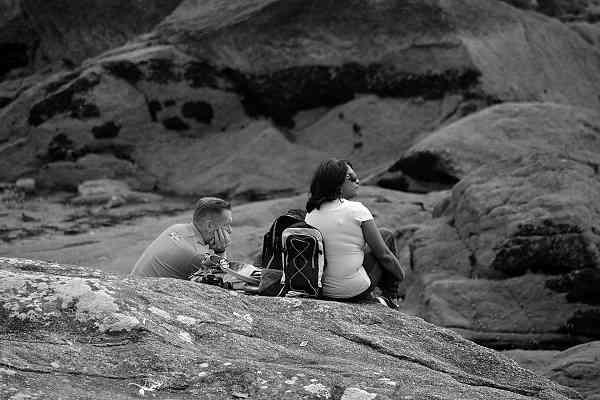 登山初心者のステップアップ 山岳会の二人